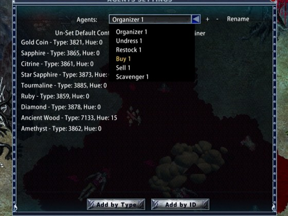 Enhanced Client Menus